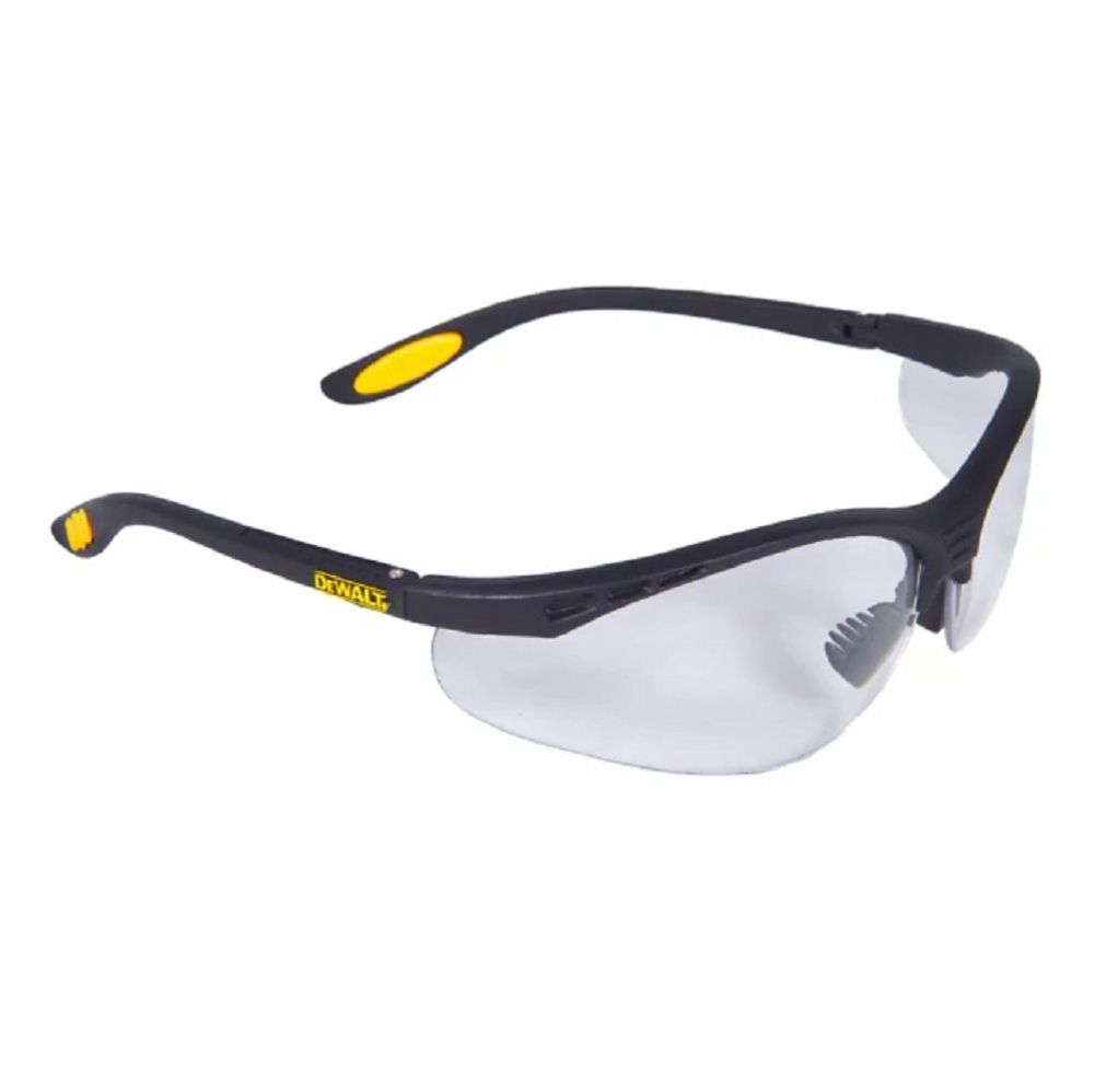 Dewalt Reinforcer™ ToughCoat™ Safety Glasses Clear Lenses